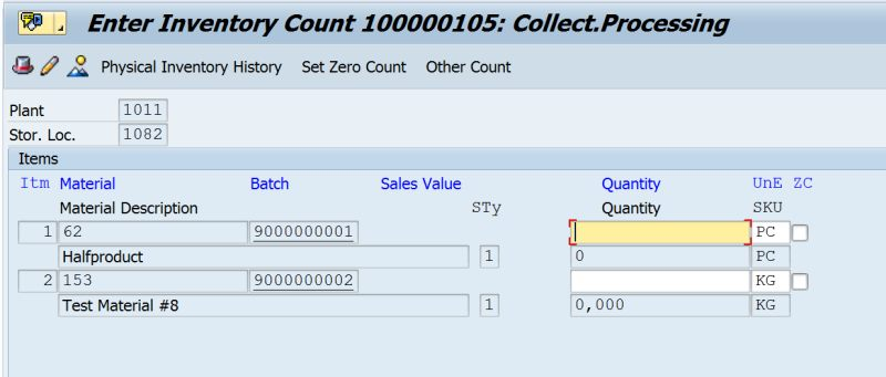 sap mi04 enter inventory count your source for sap